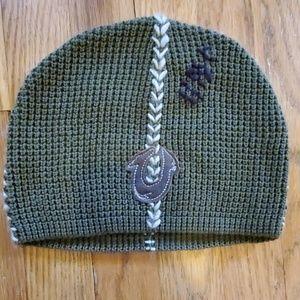 2920dbcf True Religion cotton wool blend logo beanie